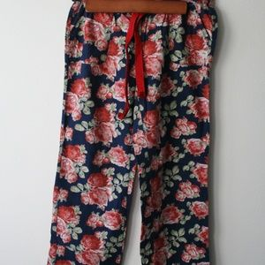 Abercrombie & Fitch Floral Pajama Pants
